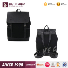 HEC Alibaba China Wholesale PU Material Squared Colleague Backpack