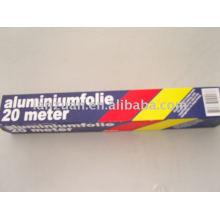 Aluminiumfolie einwickeln