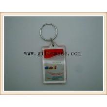 Acrylic Plastic Key Chain