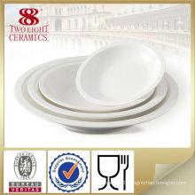 Stock restaurant plates, modern dinner plates