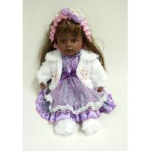 "16"" White Jacket Vinyl Doll"