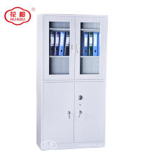 Steel Used Office Furniture Swing glass Door Storage Cabinet