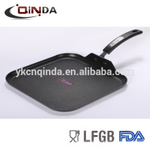 New aluminum die-casting bbq low grill pan with good quality