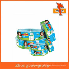 food packaging pvc shrink sleeve/label in rolls with coloful print