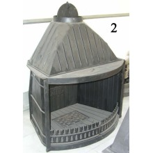 Каминная вставка западного дизайна (GF 002) Чугунная печь