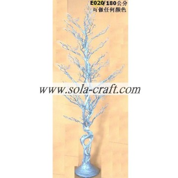 180CM Plastic Crystal Wedding Tree Centerpiece With Gold Silver White Color