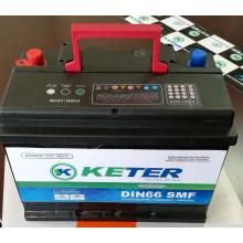 Versiegelte wartungsfreie NS120 R / L SMF SMF Autobatterien