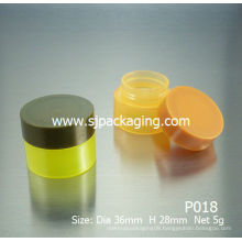5g 10g cheap recycled plastic cosmetic jars