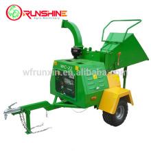 22HP diesel mobile wood chipper machine