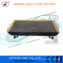 JFHyundai Escalator Step 1000mm 35 Degree Black Color Aluminum Escalator Step