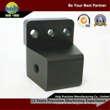 La motocicleta del CNC de la secuencia del bloque del ángulo trasero parte las piezas que trabajan a máquina del CNC de aluminio que muelen