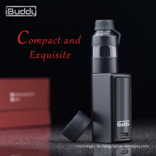 fashional Design iBuddy Nano C Top-Luftstrom Kontrolle 510 Mini-Box mod Touchscreen Vaporizer-Kits