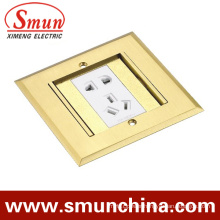 Floor Socket DC-3t/2 Double Open Hidden Type Ground Socket