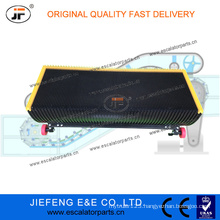 JFHyundai Escalator 1000mm 30 Degree Stainless Steel Step Black Color Escalator Step