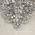 New collection fashional crystal and rhinestone wedding applique dress motifs RM402