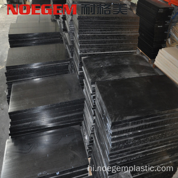 extruded engineering polyacetal sheet antistatic