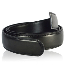 Men's leather belt straps for automatic buckle