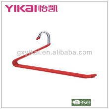 PVC coated metal trousers hanger