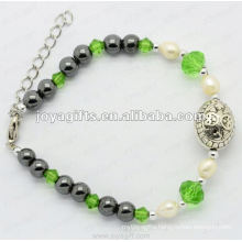 Fashion diamond bracelet pearl
