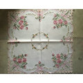 Handmade Cutwork Flower Embroidery Style Tablecloth 2016 New Design