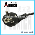 Евро шнур питания переменного тока шнур питания VDE сертификации кабель для свечей