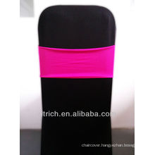 wedding chair sashes,Gorgeous Spandex Band,Lycra Band,fuchsia