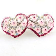 Любовь сердца розовые украшения для волос лучшие подарки на день Святого Валентина