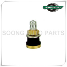TR575 Brass Tubeless Truck and Bus Tire Valves