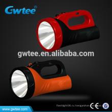 Мощный 5W перезаряжаемый светодиодный прожектор