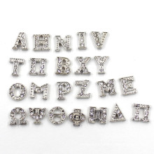 Silver Rhinestones Delta Greek Letter Charms for Living Locket