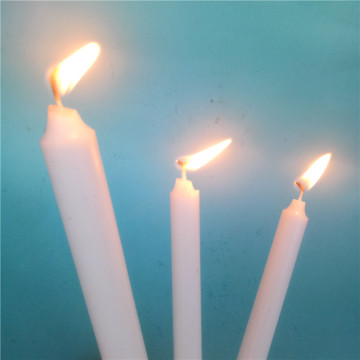 Long Burning Time Eco-friendly Snow Lilin Velas