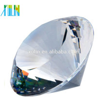 custom crystal souvenir gift clear K9 crystal diamond for wedding souvenirs