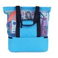 Newest waterproof Picnic Cooler Mesh Beach Tote Bag