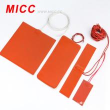 Réchauffeur de ruban de caoutchouc de silicone / chauffe-ruban de caoutchouc de silicone adapté aux besoins du client