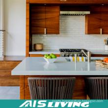 Natural Veneer Kitchen Cabinet Furniture (AIS-K430)