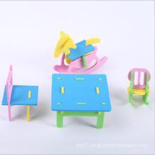 3D EVA Furniture Educational Kids Puzzle Toy
