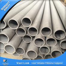 Tubería de acero inoxidable ASTM A213 certificada por SGS para intercambiador de calor