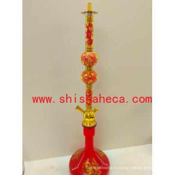 Красный Китай Новый Дизайн Наргиле Курительная Трубка Шиша Кальян
