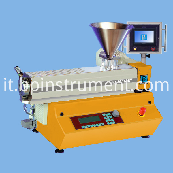 Benchtop Small Single Screw Extruder Plc Control