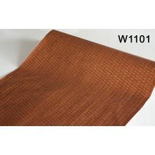 Madera de grano patrón de auto-adhesivo PVC película de decoración para el panel de la pared