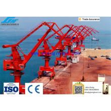 15 años Portal Crane Fabricante Puerto marítimo Application Portal Crane Pedestal Crane Container Crane con precio asequible