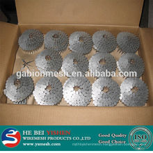 Big head double headed concrete nails umbrella roofing nails in anping factory