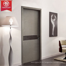 Nueva tecnología Madera Eco-puertas, fuerte y duradero Aluminio Honeycomb interior y marco de aluminio, impermeable, a prueba de sonido