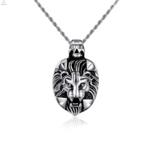 Cheap personalized pendants,lion head pendant for men