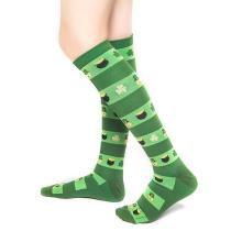 Fashion OEM Sock Fitness Running Compression Cycling Socks With Custom Logo