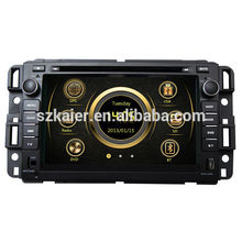 Live wince système wince radio pour Buick Enclave / Chevrolet Tahoe avec GPS / Bluetooth / Radio / SWC / Internet virtuel 6CD / 3G / ATV / iPod