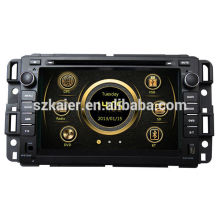 Live view wince system car radio for Buick Enclave/Chevrolet Tahoe with GPS/Bluetooth/Radio/SWC/Virtual 6CD/3G internet/ATV/iPod