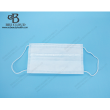 masques en tissu n tissé contenant un chiffon de pulvérisation à l'état fondu