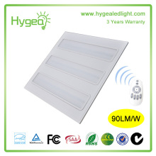 energy saving blue led office lighting 2*2 led grille panel light