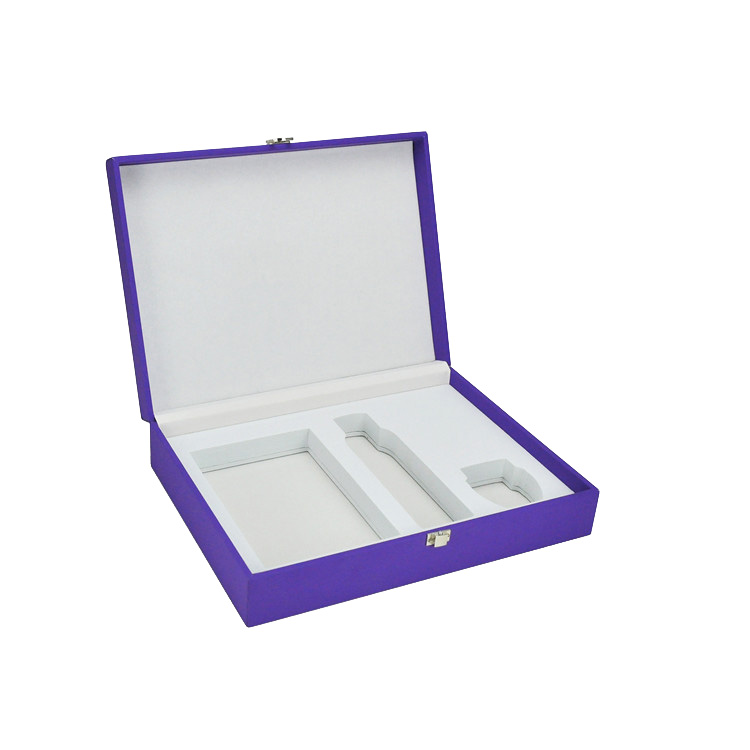 Pu Cover Clamshell Gift Box